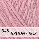 Baby Wool XL 845 brudny róż