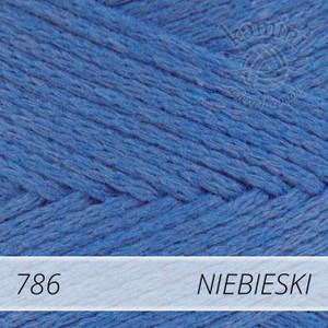 Macrame Cotton 786 niebieski