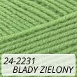 Kotek 24-2231 blady zielony