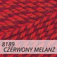 Bravo 8189 czerwony melanż