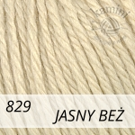 Baby Wool XL 829 jasny beż