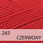 Cotton Gold 243 czerwony