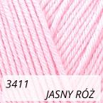 Baby Cotton 3411 jasny róż