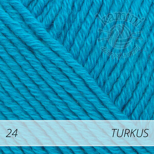 Cotton Merino 24 turkus