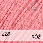Baby Wool 828 róż