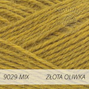Alpaca Mix 9029 złota oliwka