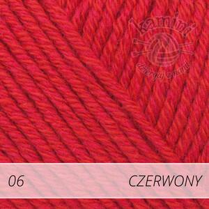 Cotton Merino 06 czerwony
