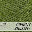 Supreme Cotton 22 ciemny zielony