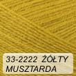Kocurek 33-2222 żółty / musztarda