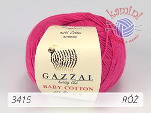 Baby Cotton 3415 róż