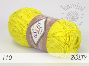 Cotton Gold Tweed 110 żółty