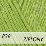 Baby Wool 838 zielony