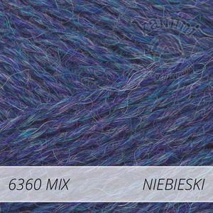 Alpaca Mix 6360 niebieski