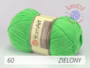 Cotton Soft 60 zielony