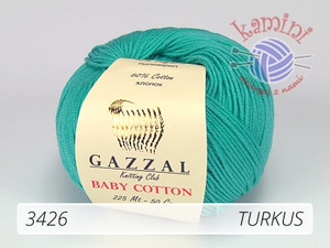 Baby Cotton 3426 turkus