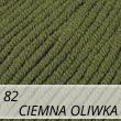 Jeans 82 ciemna oliwka