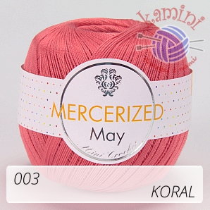 Mercerized 003 koral