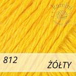 Baby Wool XL 812 żółty