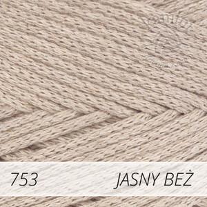 Macrame Cotton 753 jasny beż