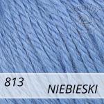 Baby Wool XL 813 niebieski