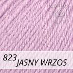 Baby Wool 823 jasny wrzos