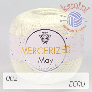 Mercerized 002 ecru