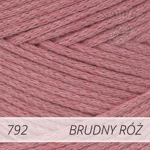 Macrame Cotton 792 brudny róż