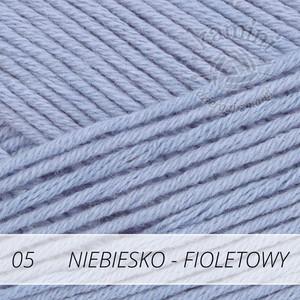 Safran 05 niebiesko-fioletowy