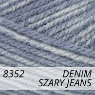 Bravo 8352 szary jeans denim