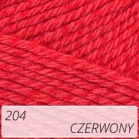 Bamboo Jazz 204 czerwony
