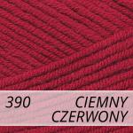 Cotton Gold 390 ciemny czerwony