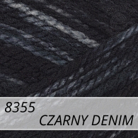 Bravo 8355 czarny denim