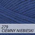Cotton Gold 279 ciemny niebieski