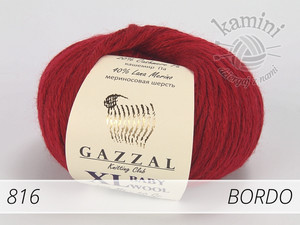 Baby Wool XL 816 bordo