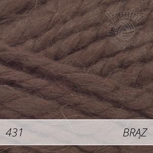 Alpine Alpaca 431 brąz