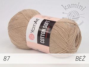 Cotton Soft 87 beż