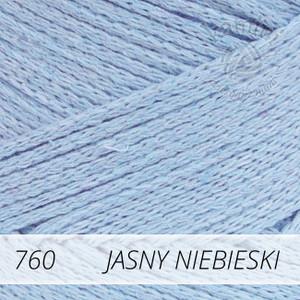 Macrame Cotton 760 jasny niebieski