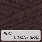 Sport Wool 4987 ciemny brąz