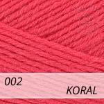Merino Gold 002 koral