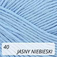 Bella 40 jasny niebieski