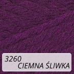 Sport Wool 3260 ciemna śliwka