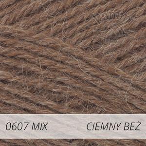 Alpaca Mix 607 ciemny beż