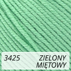 Baby Cotton 3425 zielony / miętowy