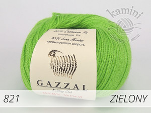 Baby Wool 821 zielony