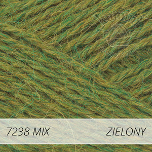 Alpaca Mix 7238 zielony