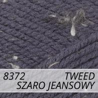 Bravo 8372 szaro jeansowy tweed