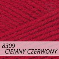Bravo 8309 ciemny czerwony