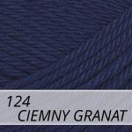 Catania 124 ciemny granat