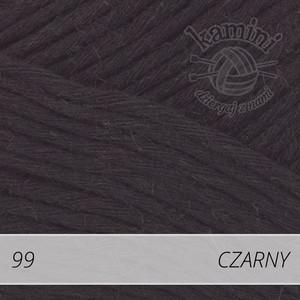 Soft Linen Mix 99 czarny