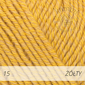 Cotton Merino 15 żółty